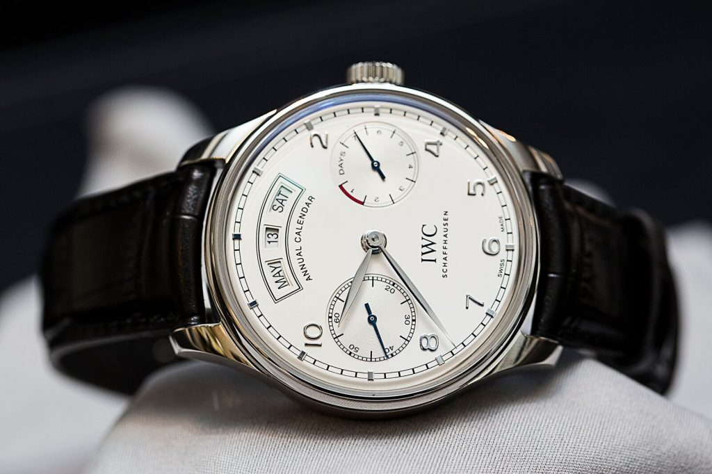 e7d4e19e2e1 With the Portugieser Annual Calendar